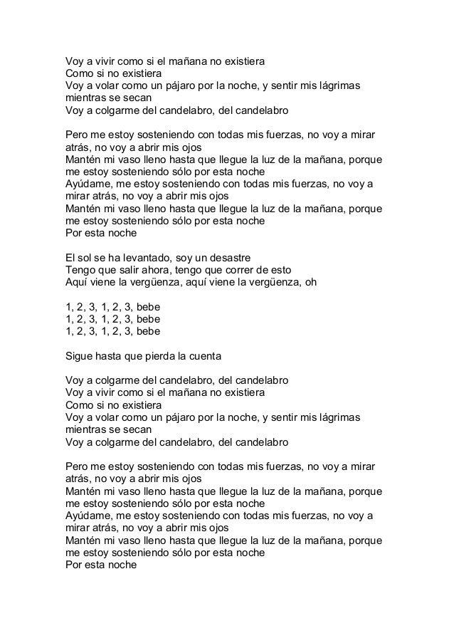 Outstanding Chandelier Lyrics Traducida Gallery - Chandelier ...