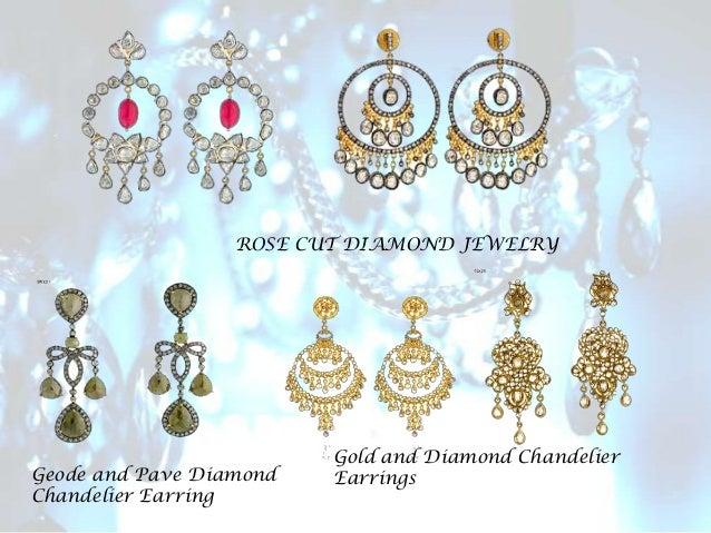 Designer Diamond Chandelier Earrings