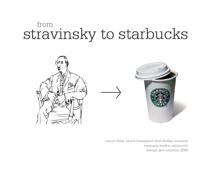 from stravinsky to starbucks                carrie chan, bruce hanington and shelley evenson                              ...