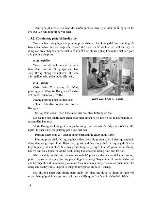18 - Khi nghe ph i có s so sánh đ i chi u gi a hai bên ng c, n u mu n nghe rõ thì cho gia súc v n đ ng trong vài phút. 1.5...