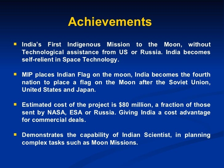 advantages of chandrayaan Which equation of aryabhatta was used in the chandrayaan mission by isro what are the benefits of the isro mars mission for india's economy and society how is it going to help human kind.
