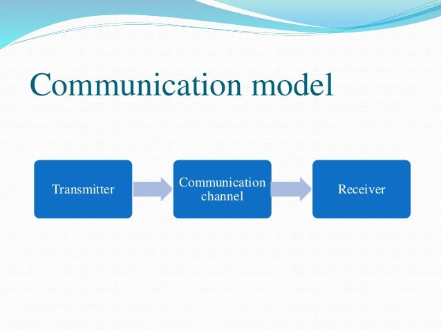 Communication Channels And Types