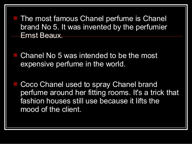 Chanel SA in Beauty and Personal Care