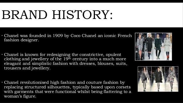 History of chanel fashion 88