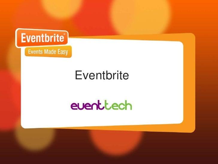 Eventbrite<br />