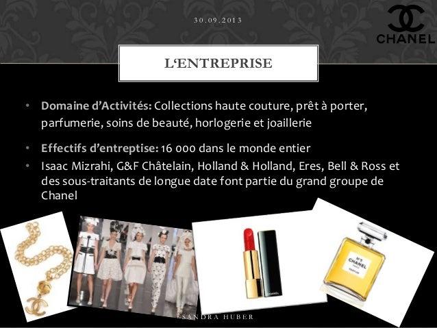 Chanel ppt - Fiche de poste vendeuse pret a porter ...
