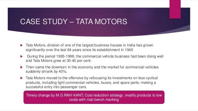 The Last Rajah Ratan Tata Case Study