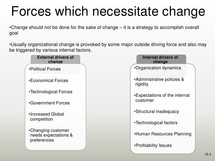 global forces of change