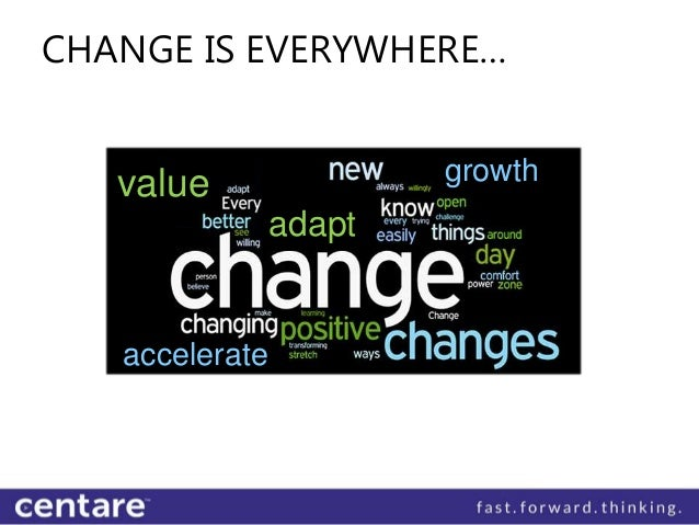 CHANGE IS EVERYWHERE…   value                growth                  E                adapt   accelerate