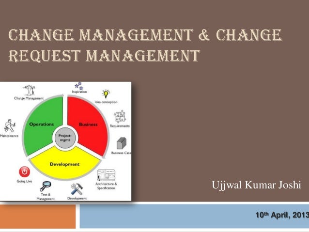 CHANGE MANAGEMENT & CHANGEREQUEST MANAGEMENT                   Ujjwal Kumar Joshi                           10th April, 2013