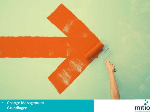 Was ist Change Management? • Change Management Grundlagen