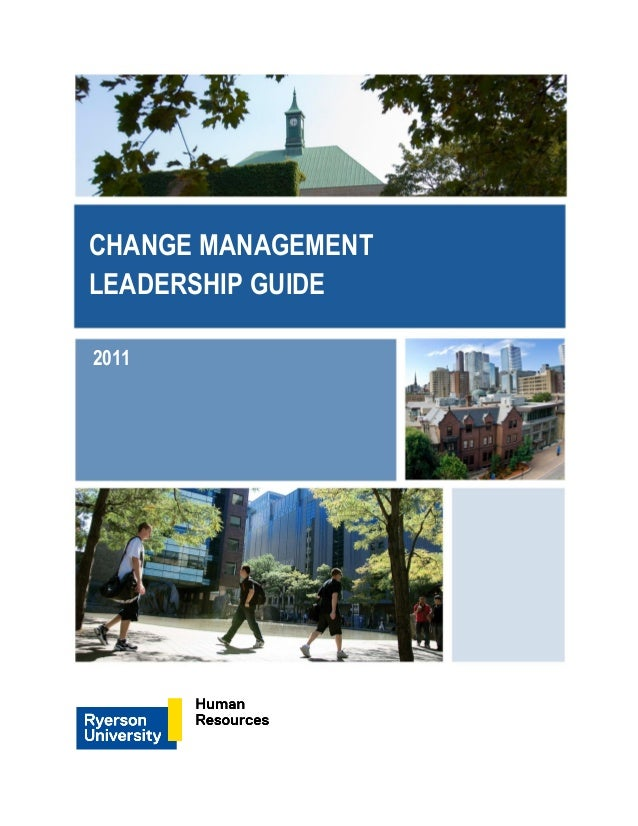 change management leadership guide rh slideshare net change management leadership guide pdf Articles On Leadership and Change