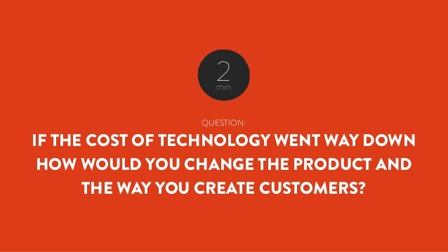 QUESTION: WHO IS YOUR CUSTOMER? 2min