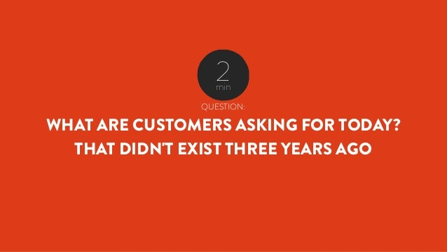 QUESTION: WHAT IS THE GAP BETWEEN YOU AND YOUR CUSTOMERS TODAY AND IN THREE YEARS? IN 2009 MICROSOFT ESTIMATED THAT WITHIN...