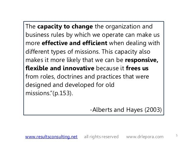 An innovative culture makes an organization more effective business essay