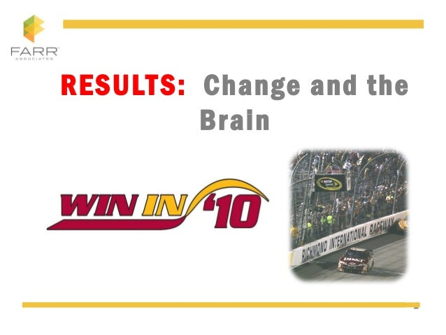 1 RESULTS: Change and the Brain