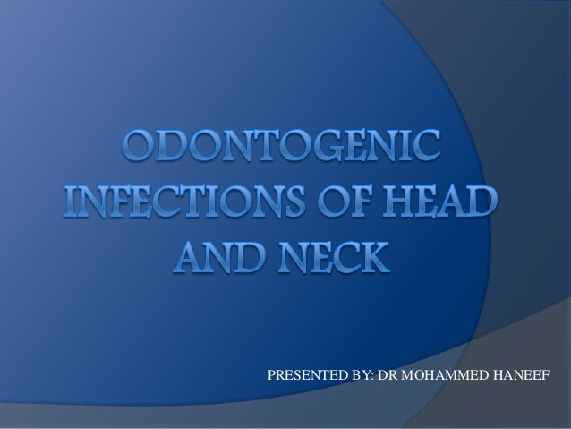 PRESENTED BY: DR MOHAMMED HANEEF