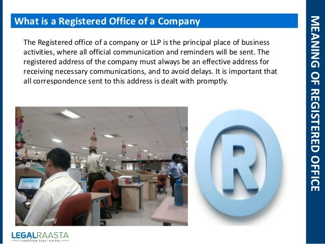 how to change registered office address