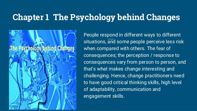 Chapter 2 People-Centric Change Management Digital is the age of people. The human element of change entails a people-cent...