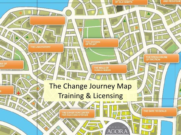 The Change Journey Map<br />Training & Licensing<br />
