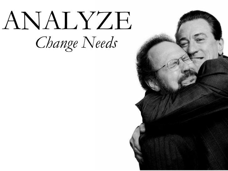 ANALYZE Change Needs