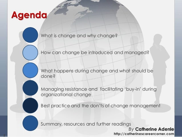Understanding, Initiating and Managing Change by Catherine Adenle Slide 3