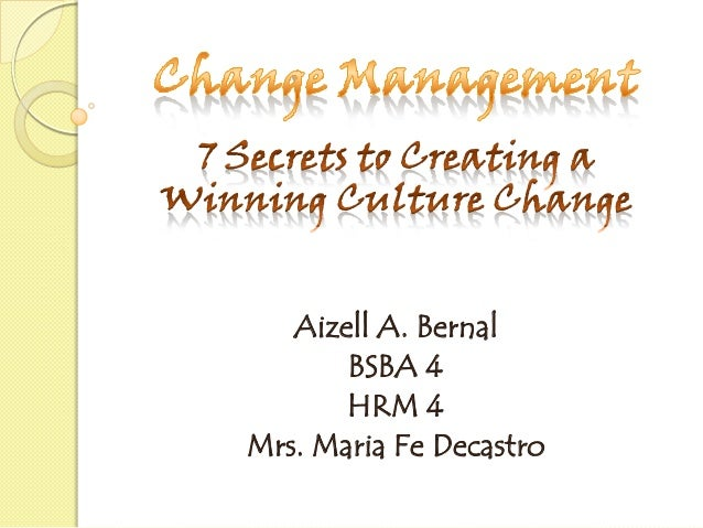 Aizell A. Bernal BSBA 4 HRM 4 Mrs. Maria Fe Decastro