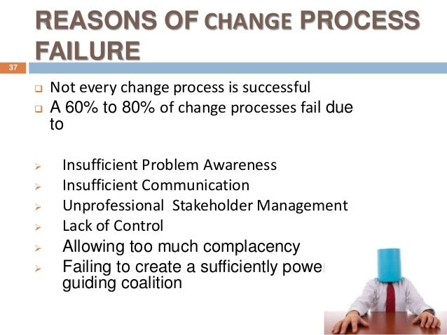 change management failure case study