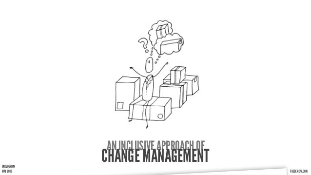 FREDERICW.COMFREDERICW.COMMAY 2016 AN INCLUSIVE APPROACH OF CHANGE MANAGEMENT@FREDERICW