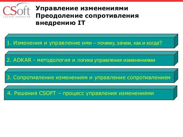 Управление изменениями - методология и процесс ADKAR Slide 2