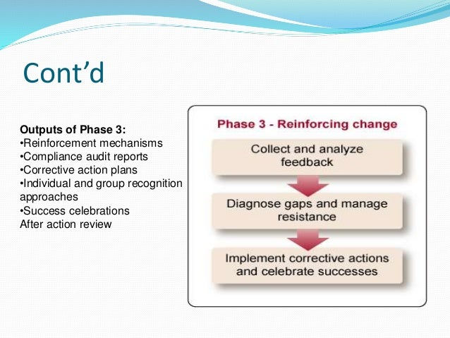 change management in an organisation In today's organizations, the rate of change has never been more rapid or more constant whether the change is a small one, like the implementation of a new system, or a much bigger one such as a company takeover or merger, the way that change is managed makes all the difference to its success or failure.