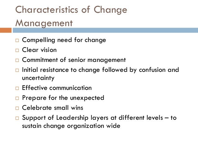 change management model n step What is change management change management is a systematic activity to prepare an organization for and implement ongoing environmental changes in a business operation so to speak, change management is.
