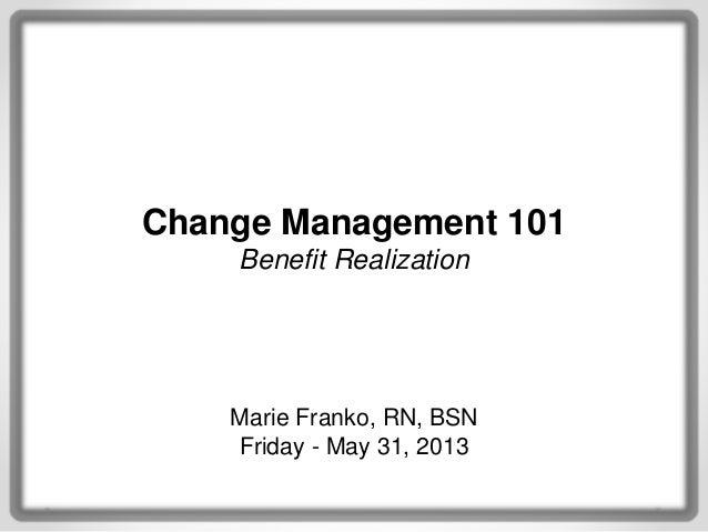 change management presentation