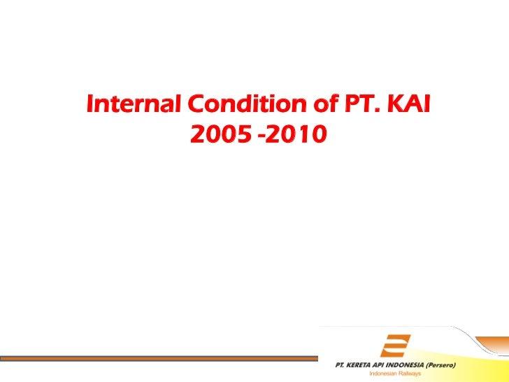 Change management ptkai internal condition of pt kai 2005 reheart Choice Image