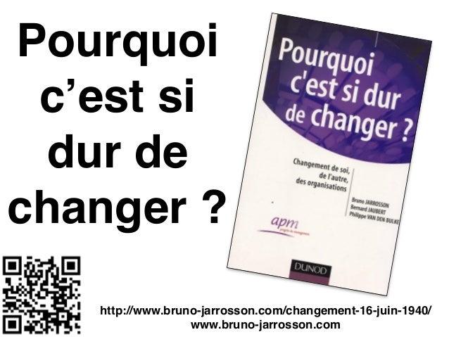 Pourquoi c'est si dur de changer ? http://www.bruno-jarrosson.com/changement-16-juin-1940/ www.bruno-jarrosson.com