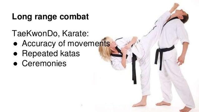 Martial arts differences karate versus taekwondo