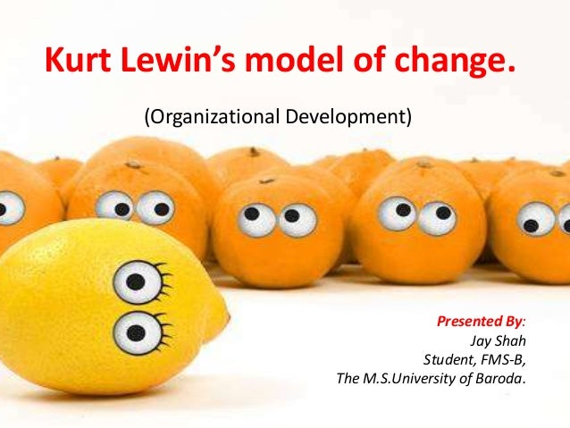 lewins model of organisational change essay