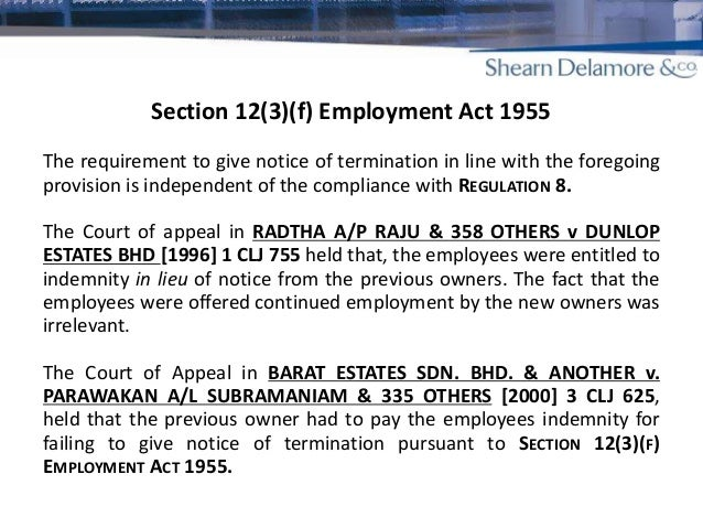 impact of legal framework on employment cessation arrangement The legal entity to the agreement 2 offer & acceptance policy for risk management in contracts termination provisions are specified and reasonable dispute resolution processes are identified indemnification.
