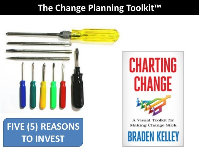 The Change Planning Toolkit™ FIVE (5) REASONS TO INVEST