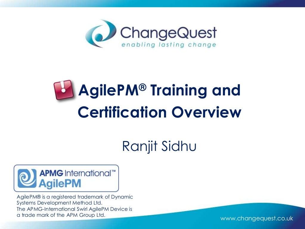Flipboard Agile Project Management Certification Overview