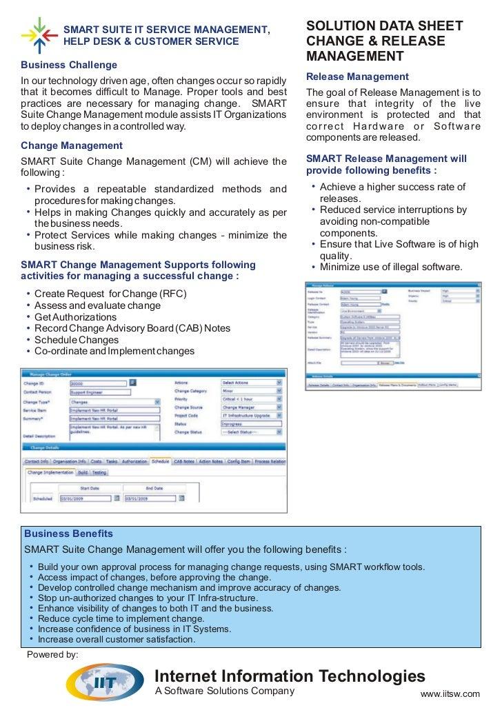 Change release management_datasheet