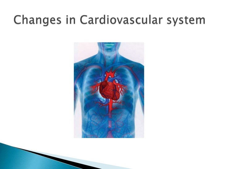 Changes in Cardiovascular system<br />