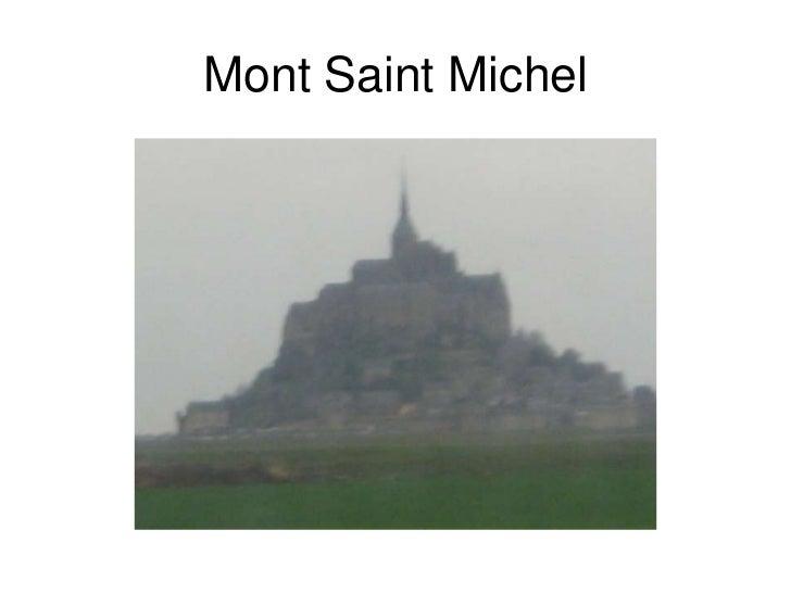 Mont Saint Michel<br />