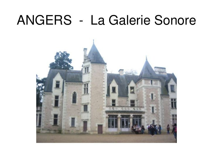 ANGERS  -  La GalerieSonore<br />