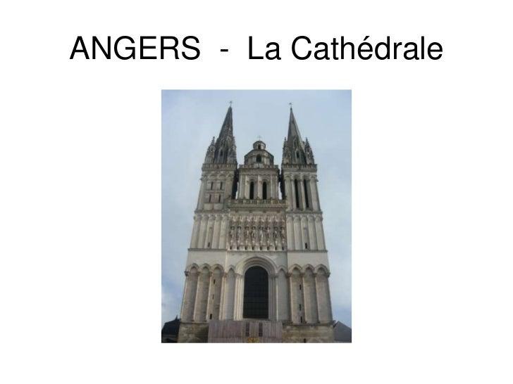 ANGERS  -  La Cathédrale<br />