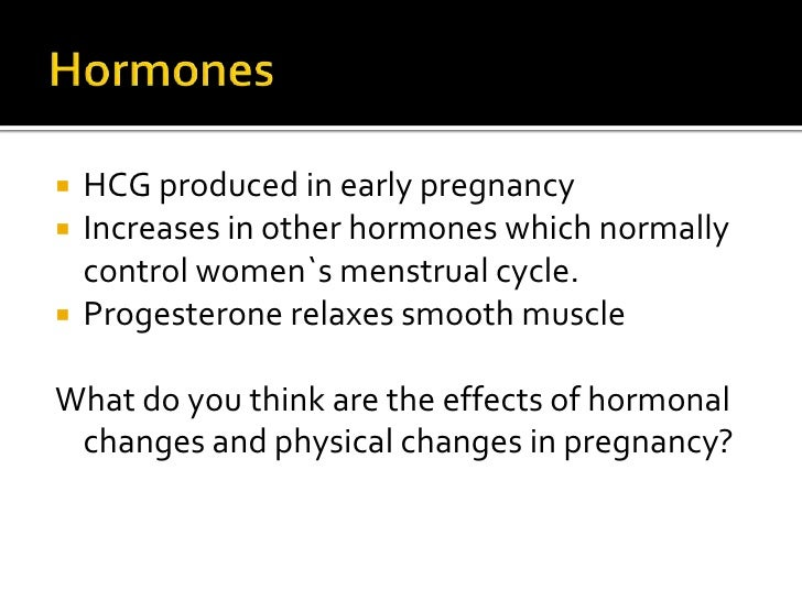 Changes In Pregnancy Early Pregnancy Class