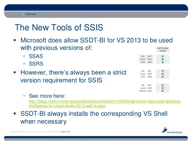 Changes with SSIS 2012/2014