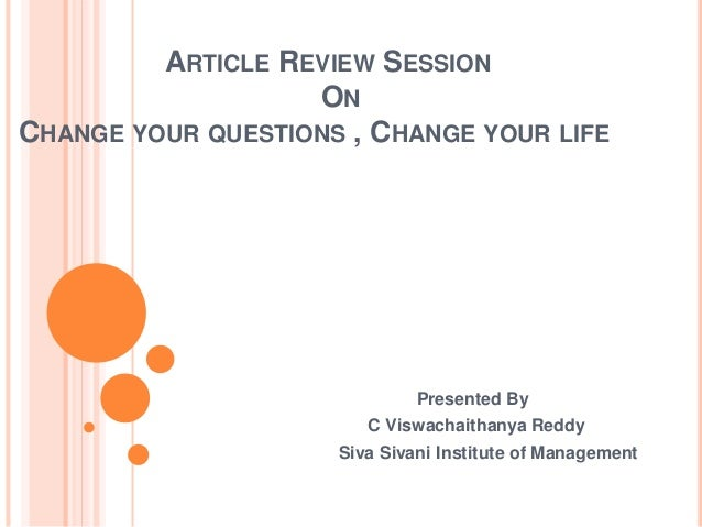 book review art of change 1 has 5 ratings and 0 reviews the art of change: a practical approach to  transforming yourself and your lifeall around the wo  rate this book clear  rating.