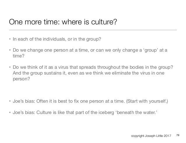 Agile, Culture & Change
