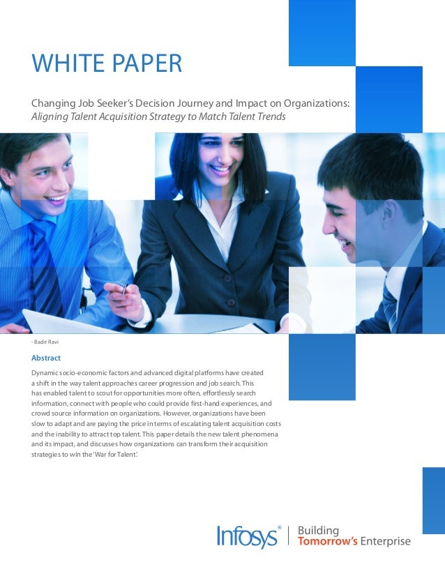 Abstract Dynamic socio-economic factors and advanced digital platforms have created a shift in the way talent approaches c...